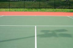 Corte di tennis Fotografie Stock Libere da Diritti