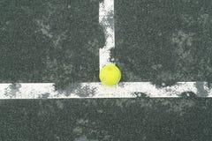 Corte di tennis Fotografia Stock Libera da Diritti