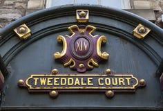 Corte di Tweeddale a Edimburgo Fotografia Stock Libera da Diritti