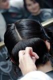 Corte do cabelo Fotos de Stock Royalty Free