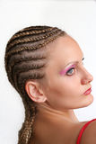 Corte do cabelo de Rasta Foto de Stock