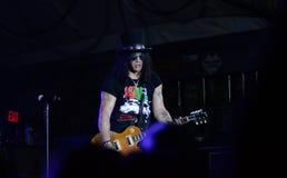 Corte do guitarrista Imagem de Stock Royalty Free