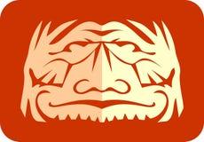 Corte do papel da face Foto de Stock Royalty Free