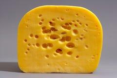 Corte do queijo foto de stock