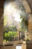 Corte do ` s de Pontius Pilate, Jerusalém, Israel Imagens de Stock Royalty Free