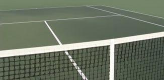 Corte e rete di tennis Immagini Stock