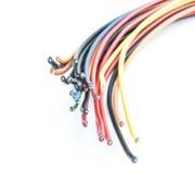Corte el alambre eléctrico Fotografía de archivo libre de regalías