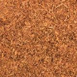 Corte el fondo de la textura del tabaco de tubo, primer macro de las hojas intercambiables, modelo detallado grande Fotografía de archivo