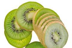 Corte el kiwi Fotos de archivo