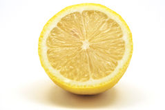Corte el limón Imagen de archivo