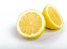 Corte el limón Imágenes de archivo libres de regalías
