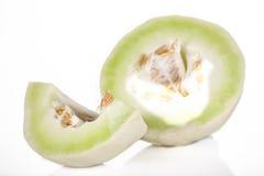 Corte el melón Imágenes de archivo libres de regalías