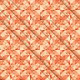 Corte el mosaico ilustración del vector