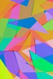 Corte el papel coloreado 8 Imágenes de archivo libres de regalías
