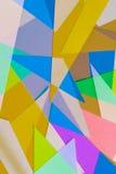 Corte el papel coloreado 7 Fotos de archivo libres de regalías