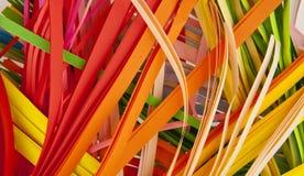 Corte el papel del color Foto de archivo libre de regalías