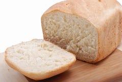 Corte el pedazo de pan Imagen de archivo libre de regalías