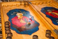 Corte em cubos antigo Imagens de Stock Royalty Free