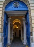 A corte em Paris Imagens de Stock
