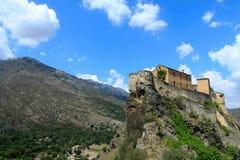 Corte en Corse Photos libres de droits