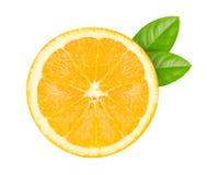 Corte en naranja foto de archivo libre de regalías