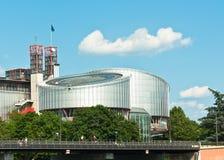 Corte Europea dei Diritti Umani Fotografia Stock Libera da Diritti