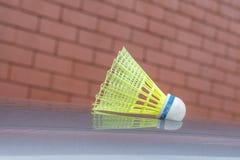 Corte exterior da peteca plástica do badminton Fotos de Stock