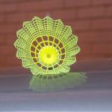 Corte exterior da peteca plástica do badminton Imagens de Stock