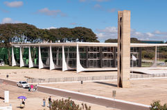 Corte federal suprema de Brasil Fotos de Stock Royalty Free