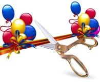 Corte a fita festiva Imagem de Stock Royalty Free