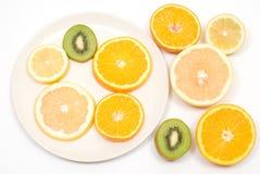 Corte frutas imagem de stock