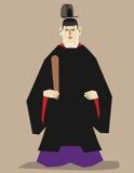 Corte imperial japonesa Ilustração do Vetor