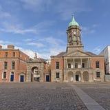 Corte interna de Dublin Castle, Irlanda imágenes de archivo libres de regalías