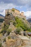 Corte, Korsika, Frankreich Stockbilder
