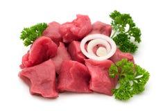 Corte la carne de vaca Imágenes de archivo libres de regalías