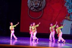 Corte la exposición de enseñanza de clasificación Jiangxi del logro de los niños de la prueba de la academia de la danza de Pekín fotos de archivo libres de regalías