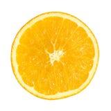Corte la naranja Imágenes de archivo libres de regalías