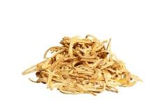 Corte la raíz secada Foto de archivo libre de regalías