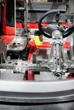 Corte la sección de la carrocería de coche Fotografía de archivo