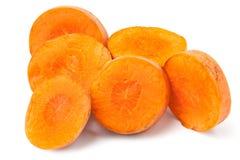 Corte la zanahoria Foto de archivo libre de regalías