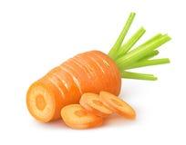 Corte la zanahoria Imagen de archivo libre de regalías