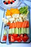 Corte las verduras Imagen de archivo libre de regalías