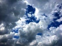 Corte limpo da nuvem do céu Imagem de Stock Royalty Free