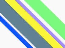 Corte linhas retas fundo abstrato de cor 3d de papel Fotos de Stock Royalty Free