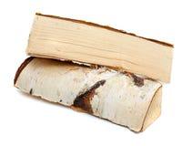 Corte los registros de la madera del fuego Imagen de archivo libre de regalías