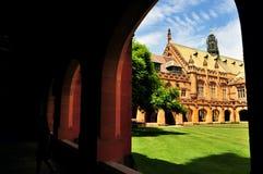 Corte en la universidad de Sydney Imagenes de archivo