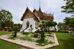 Corte media del palacio magnífico de Tailandia Fotografía de archivo libre de regalías