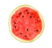 Corte a melancia Fotografia de Stock