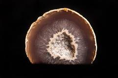 Corte mineral de la piedra Imagen de archivo libre de regalías
