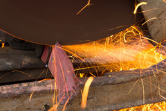 Corte o ferro Foto de Stock